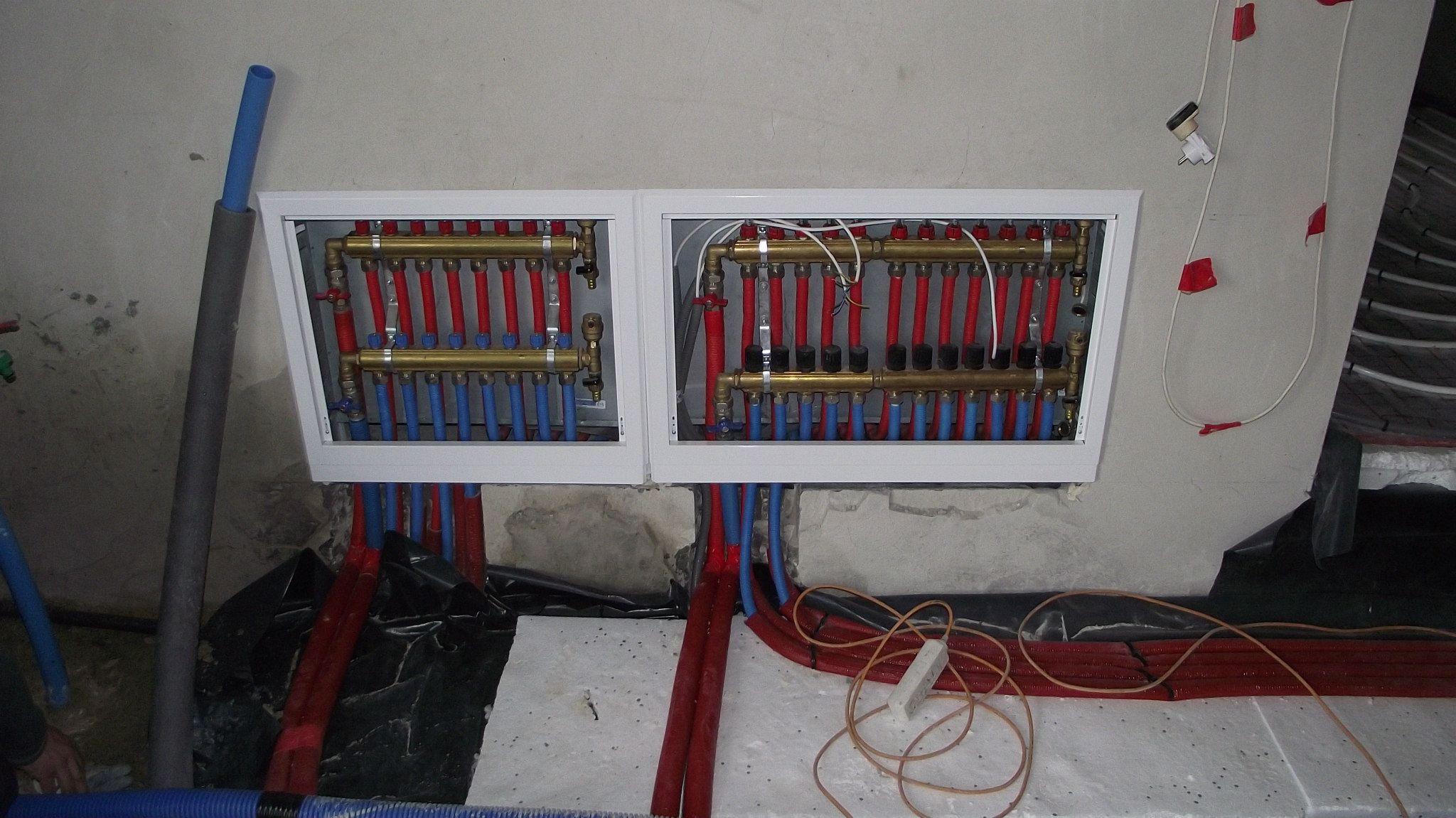 Wykonanie i naprawa instalacji wodnych gazowych i grzewczych